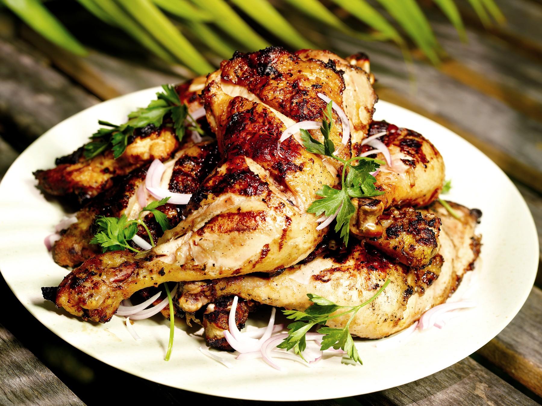Grilled Tandoori Style Chicken - Lahaina Shores Beach Resort ...